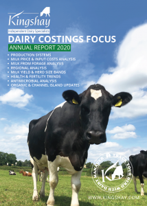 Dairy Costings Focus Report 2020 Front Cover