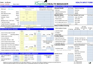 Example Health Manager Input Form-1