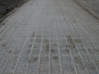 Concrete Grooving Trial